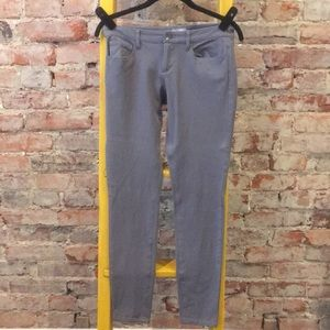 Grey Banana Republic slim flit jean   .